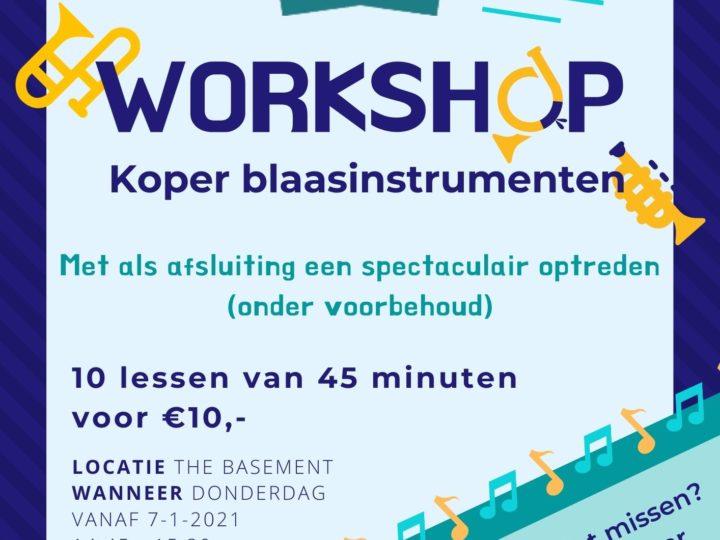 Workshops voor Boekelse Jeugd